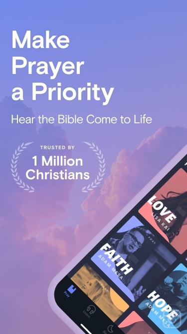 تصاویر Pray.com Bible & Sleep Stories