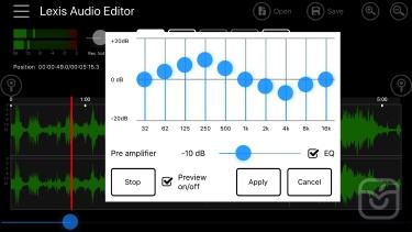 تصاویر Lexis Audio Editor