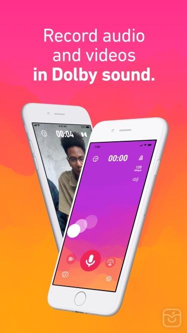 تصاویر Dolby On: Record Audio & Video