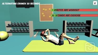 تصاویر ABS - 5 min Six Pack Workout