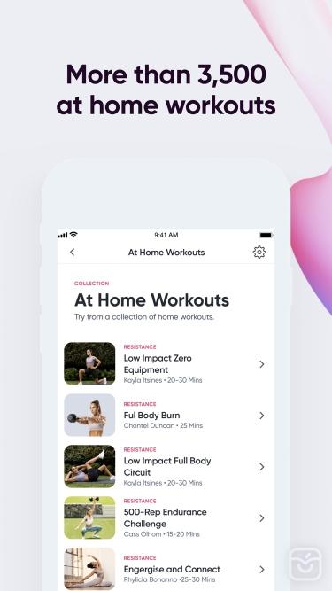 تصاویر Sweat: Fitness App For Women