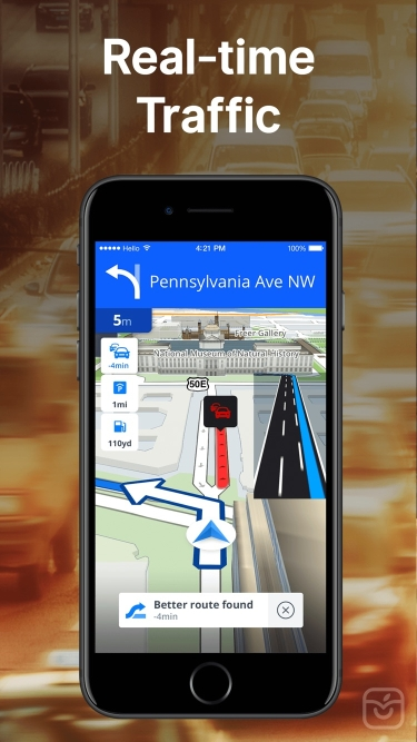 تصاویر Sygic GPS Navigation & Maps