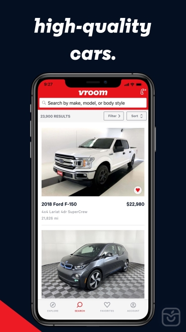 تصاویر Vroom: Used Cars Delivered