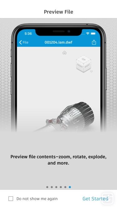 تصاویر Autodesk Vault Mobile