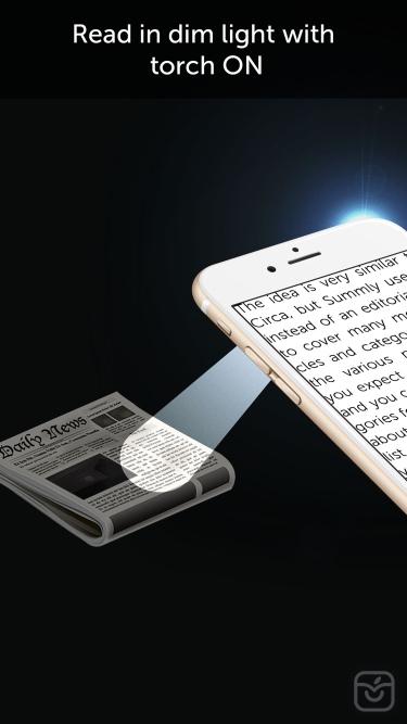 تصاویر Magnifying Glass & Flash Light