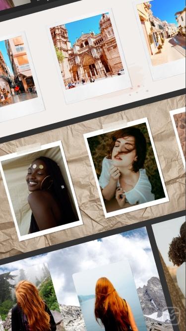 تصاویر Scroll Post for Insta: Caro