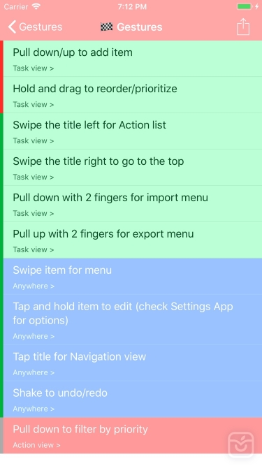 تصاویر Manageable: Nested ToDo Lists