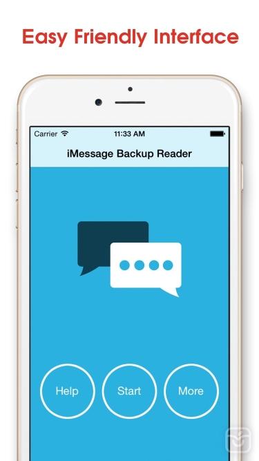 تصاویر Message Backup Reader