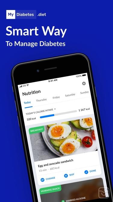تصاویر MyDiabetes: Personal Assistant