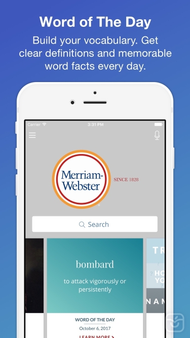 تصاویر Merriam-Webster Dictionary Pro
