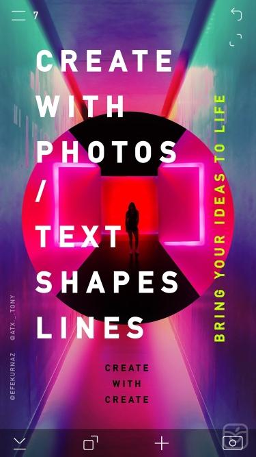 تصاویر CREATE: Graphic Design + Fonts