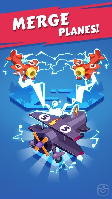 تصاویر Merge Plane - Best Idle Game