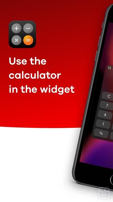 تصاویر Calculator Widget - WCalc