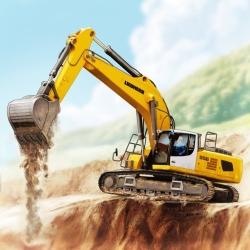 لوگو Construction Simulator 3