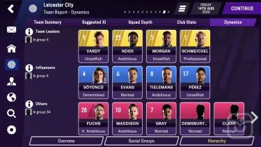 تصاویر Football Manager 2021 Mobile