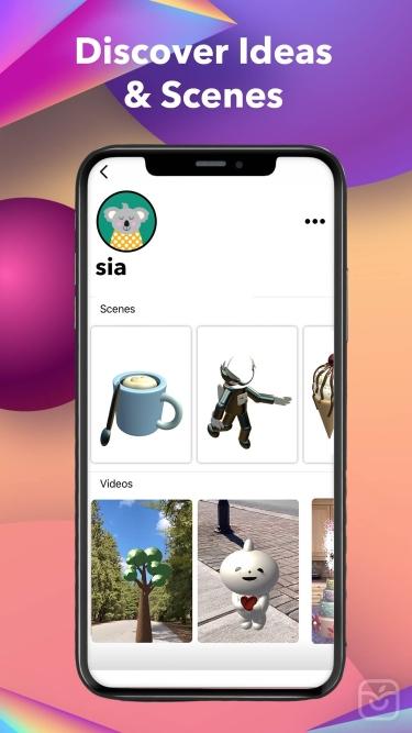 تصاویر 1lens - AR 3D Creation