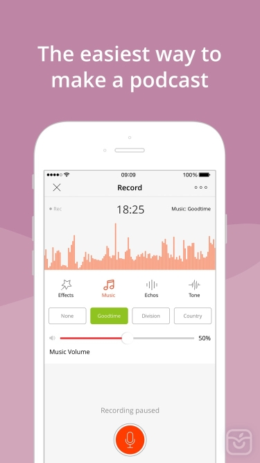 تصاویر Podbean Podcast App & Player