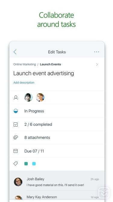 تصاویر Microsoft Planner