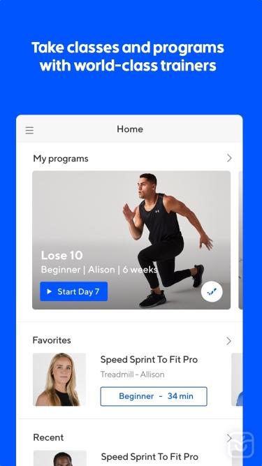 تصاویر Go - Audio Workouts & Fitness