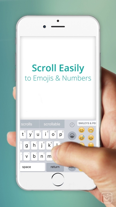 تصاویر EasyType Keyboard