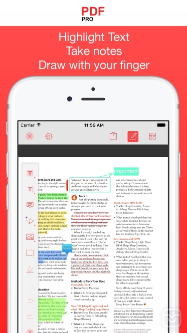 تصاویر PDF Reader Pro