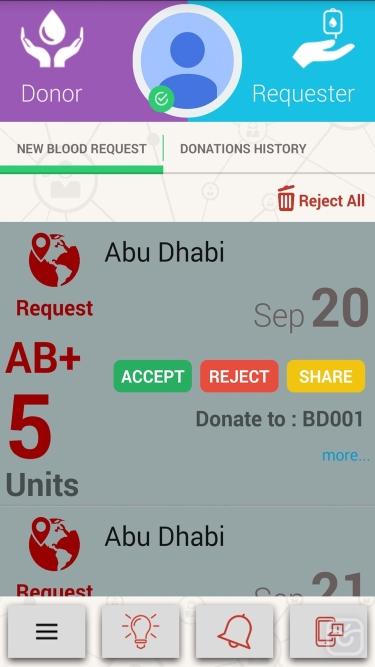 تصاویر iCare Blood Donation