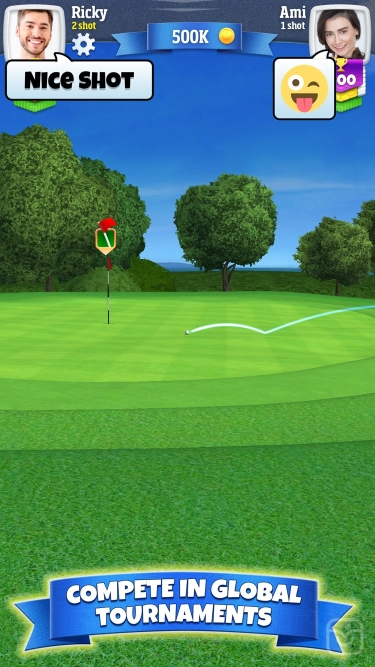 تصاویر Golf Clash