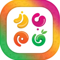 لوگو بازرگام(خرید آنلاین میوه)