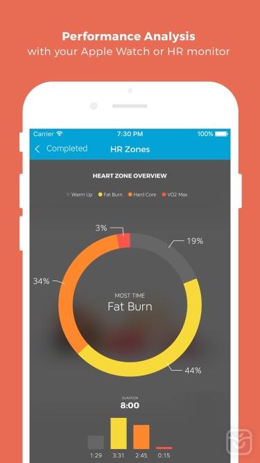 تصاویر Workout Trainer: fitness coach
