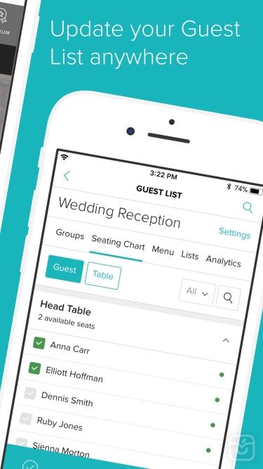 تصاویر Wedding Planner by WeddingWire