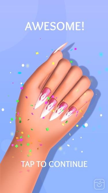 تصاویر Acrylic Nails!|اکریلیک نیلز