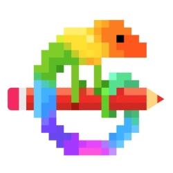 لوگو Pixel Art - Color by Number