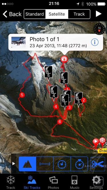 تصاویر Ski Tracks