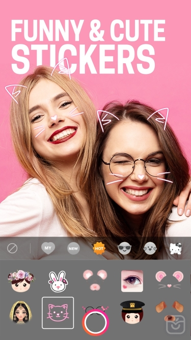 تصاویر BeautyPlus -Snap, Edit, Filter