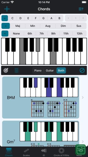 تصاویر Tonality: Piano/Guitar Chords