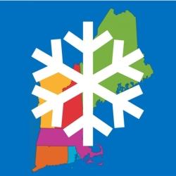 لوگو New England Snow Map