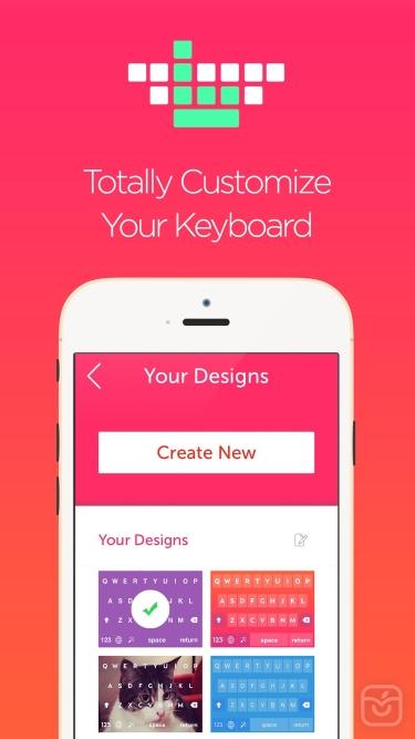 تصاویر Keyboard Maker by Better Keyboards - Free Custom Designed Key.board Themes