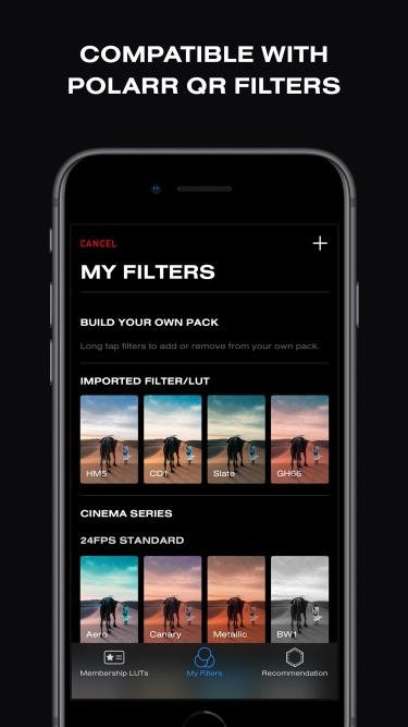تصاویر 24FPS - Video Filter & LUT