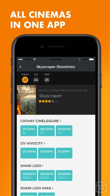 تصاویر Popcorn: Movie showtimes