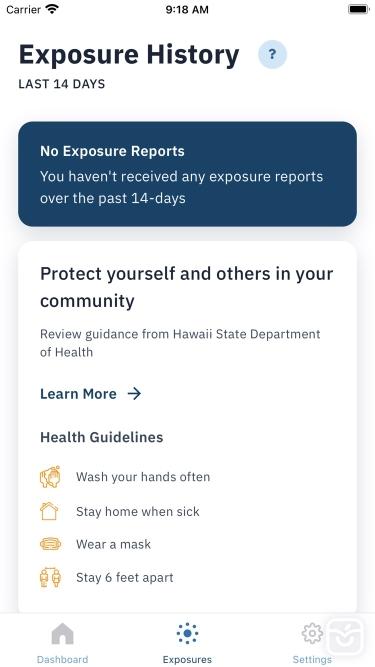 تصاویر AlohaSafe Alert