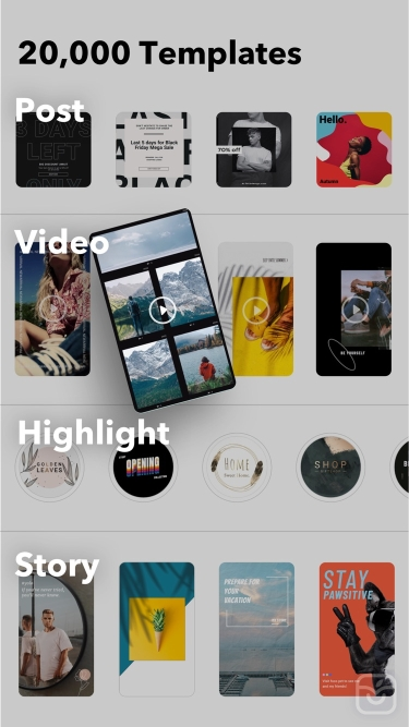 تصاویر FocoDesign: Insta Story Editor
