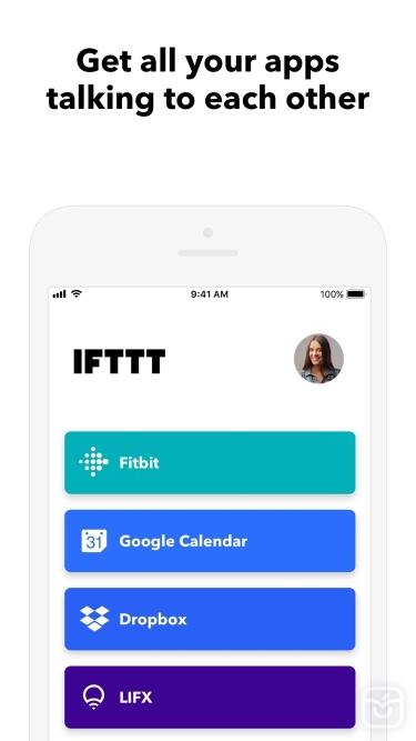 تصاویر IFTTT