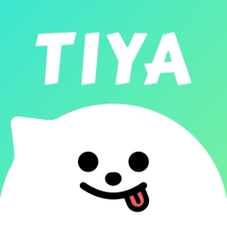 لوگو Tiya - Voice Chat & Match