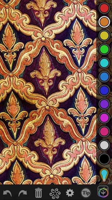 تصاویر iOrnament: draw symmetric art