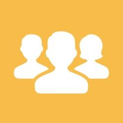 لوگو Contact Groups - Text & Email