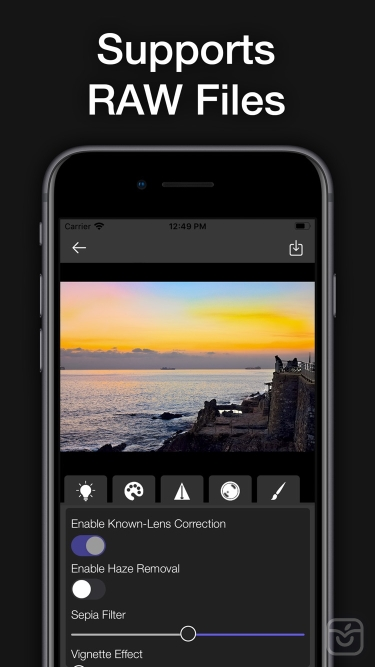 تصاویر Light Suite - Photo Editor