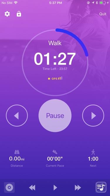 تصاویر   Couch to 5K® - Run training