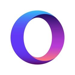 لوگو Opera Touch web browser
