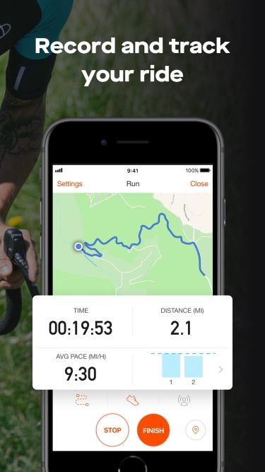 تصاویر Strava: Run, Ride, Swim