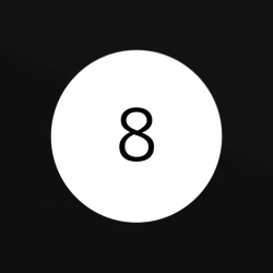 لوگو Modern Magic 8 Ball